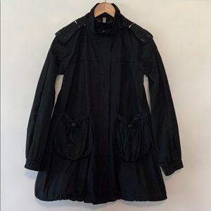 Burberry London Black Rain Coat